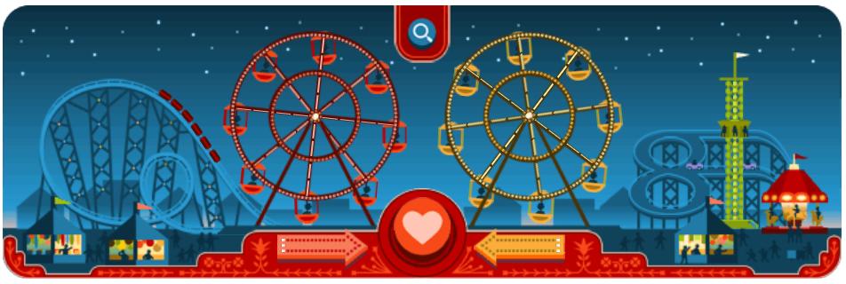 George Ferris - Google Doodle